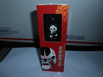 Enamel Metal Beijing Opera Mask Bookmark Panda Bear Super Dragon Folkart Nib