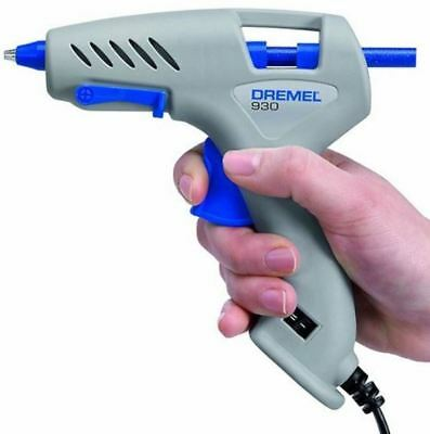 Hot Glue Gun DREMEL DUAL HEAT 5W / 20W  Switch MELT 18 Sticks SCRAPBOOK AU Plug