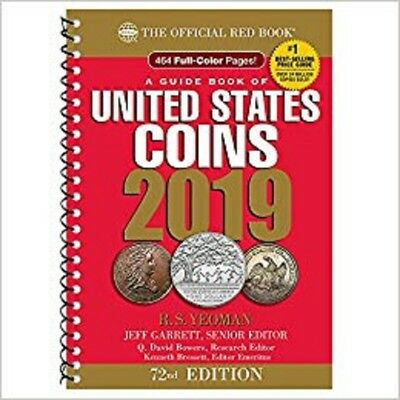2019 Official Red Book of United States Coins by R. S. Yeoman [Spiral Bound] NEW