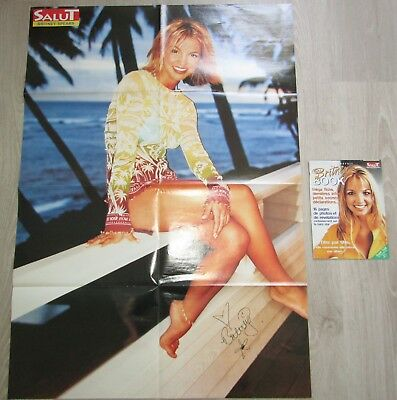 Britney spears - Poster géant Hawaii SUPER RARE + Britney Book