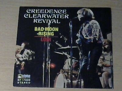 """7"""" CREEDENCE CLEARWATER REVIVAL (CCR) * Bad Moon Rising / Lodi"""