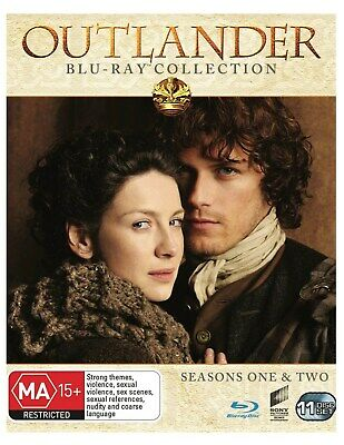 Outlander Seasons One Two Box Set Blu-ray Region B NEW