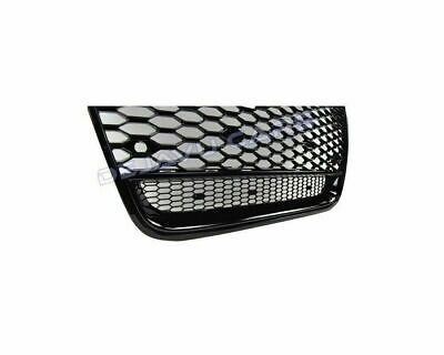 Audi Ring Emblem Logo Holder for A1 A3 A4 A5 A6 RS Frontgrill Honeycomb Mesh