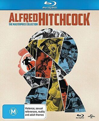 Alfred Hitchcock The Masterpiece Collection Blu-ray Region B NEW