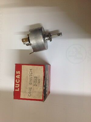 Lucas Model 117Sa Wash Wiper Switch Rootes Hillman