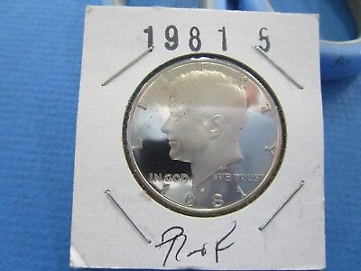 1981 S Kennedy Half Dollar Coin UNC Proof