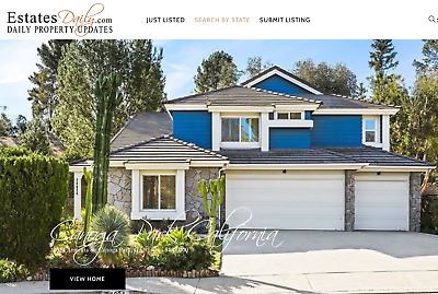 Real Estate Website and Domain Name, Established, Profitable & Easy to use