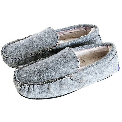 Mens Slip-On Indoor Flat Warm Comfy Cool Slippers House Shoes Sizes 7-10