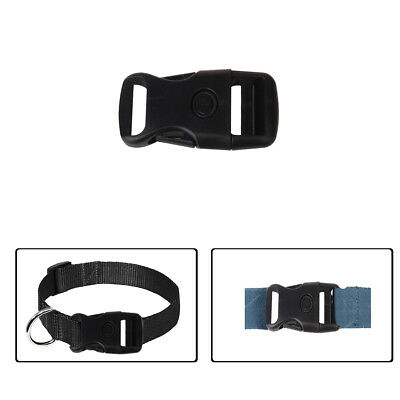 25mm x 67mm Buckle Plastic Adjustable Release Clasp Webbing Straps Pet Collars