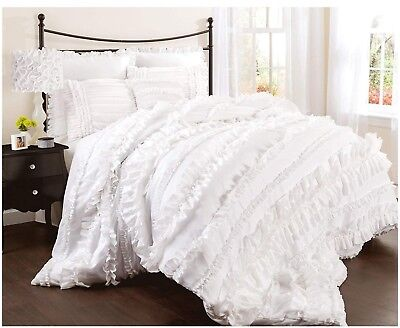 Brand New-Belle 3 Pce Comforter Set- Large King Single- Beautiful For Young Girl