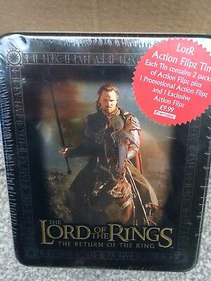 The Lord Of The Rings The Return Of The King Action Flipz Tin Horse 2 Packs