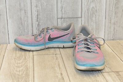 purchase cheap 0b39d 82ba8 Nike Free Rn Distance Running Shoes, Women s Size 7.5, Pink Grey