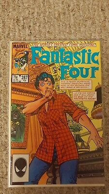 Fantastic Four Vol. 1. #287. NM-. 9.2. John Byrne cover, story, pencils