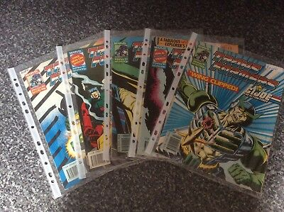 Vintage Transformers Comic Issues 293 294 295 296 297 Marvel Uk