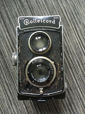 Rolleicord II Model 1 Triotar 1:3,5 f=7.5cm Camera