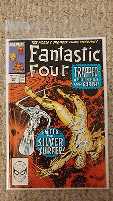 Fantastic Four Vol. 1. #325. NM-/NM. 9.2 - 9.4. Silver Surfer Appearence.