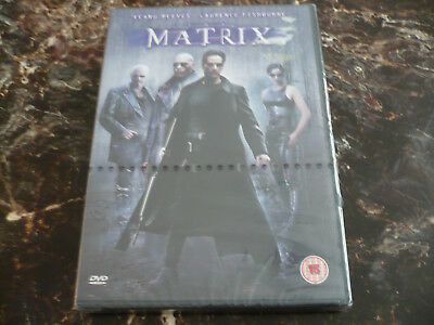 The Matrix - Keanu Reeves & Laurence Fishburne (DVD) (New & Sealed)