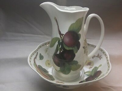 Royal Queen's Horticultural Society Collection Large Jug & Bowl Set