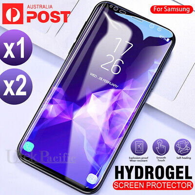 Samsung Galaxy S10 5G S9 S8 Plus Note 9 8 S7 EDGE HYDROGEL AQUA Screen Protector