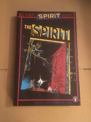 Will Eisner's The Spirit Archives, Volume 1, first edition hardback, DC Comics