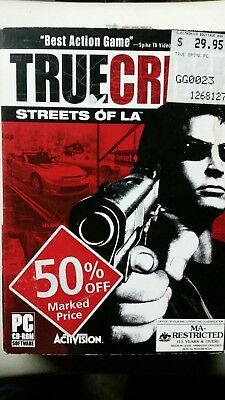 Truecrime Streets of L.A Cd Rom PC Game