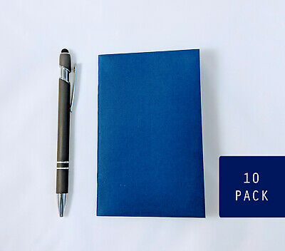 "Bulk Navy Blue Notebooks, 3.5 x 5.5"", Journals, Sketchbook, Small Blank Journals"
