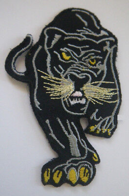 Embroidered Black Panther Patch