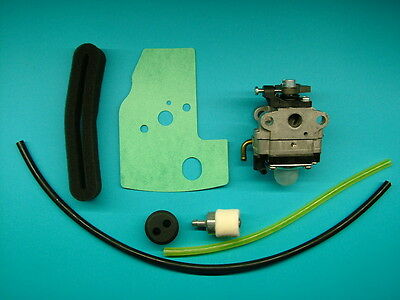 Honda GX22 Complete Replacement Carburetor Kit with Ruixing Carby, Fuel Line ++