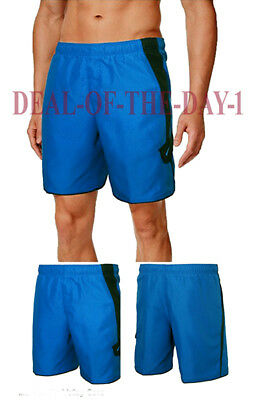 1e7a39028d NIKE Swim Shorts Trunks Volley Core Contend Men's Large Blue/Black NWT $48