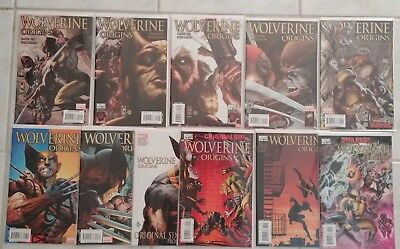 WOLVERINE ORIGINS #21-29, 31 34 NM/NM+ Deadpool Story (Marvel 2006) Lot of 11!