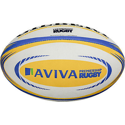 Clearance New Gilbert Rugby Aviva Premiership Replica Ball Size 5