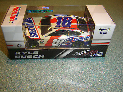 2018 Kyle Busch #18 Snickers Almond Toyota 1/64 Nascar Action In Stock