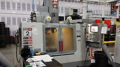 Used 2003 Haas VF-2SS CNC Super Speed Vertical Machining Center Mill 12k rpm CT