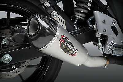 Yoshimura Alpha T Slip-on SUZUKI GSX250R 2018 SS Carbon Cap Works Finish