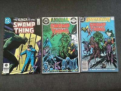 Swamp Thing #21, #50 & Annual #2