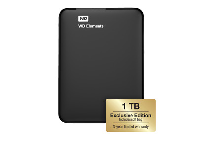 Wd 1Tb Black Elements Exclusive