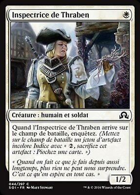 MRM FRENCH 4x Inspectrice de Thraben - Thraben Inspector MTG Magic SOI