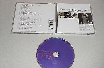 CD Stevie Wonder - Song Review 1996 21.Tracks A Greatest Hits Collection