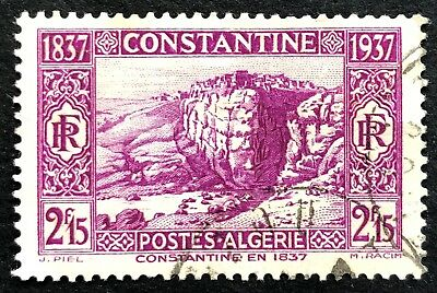 Centenary of the Capture of Constantine 1937 Used Algeria Stamp for Sale