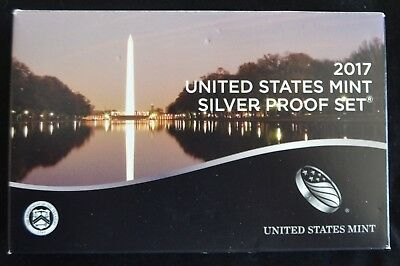 2017 10-Coin Us Mint Silver Proof Set