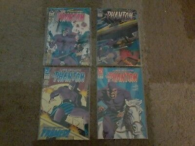 The Phantom #4 (1988) & The Phantom #11-13 (1990) DC Comics  NICE   L@@K
