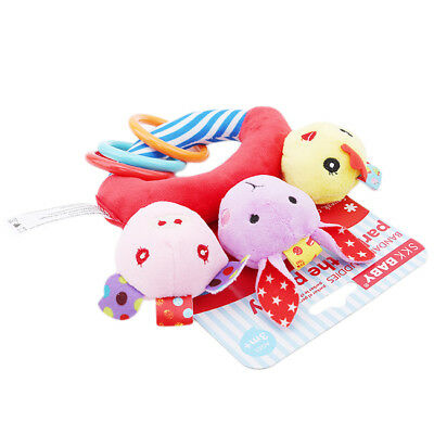 Animal Rattle Teether Baby Toys Shake Grap Baby Hand Development Toy LH