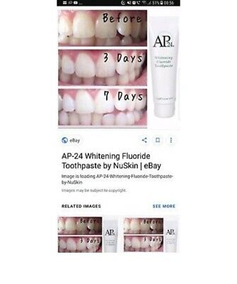 Nu Skin AP-24 Whitening Fluoride Toothpaste (No peroxide) BRAND NEW RRP £11.00