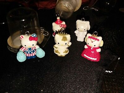 Official Sanrio Hello kitty charm lot of 5 Original