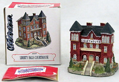 Liberty Falls Courthouse Americana Collection Village AH39 Figurine