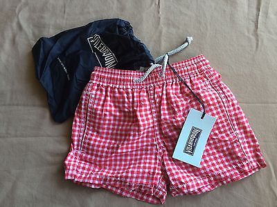 New With Tags Authentic Vilebrequin - Swim Trunks / Shorts - Boys 2 - Plaids