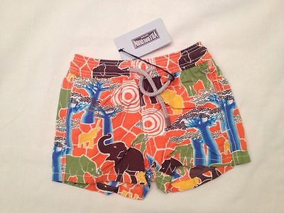 New With Tags Authentic Vilebrequin - Swim Trunks / Shorts - Boys 2 - Elephants