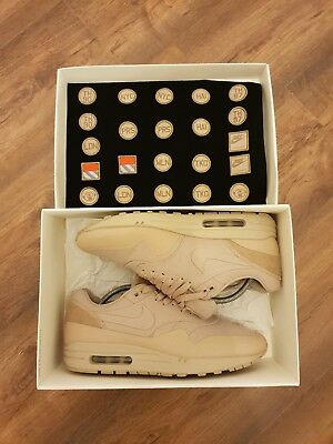 Nike Air Max 1 V SP 'PATCH PACK' sand UK 9