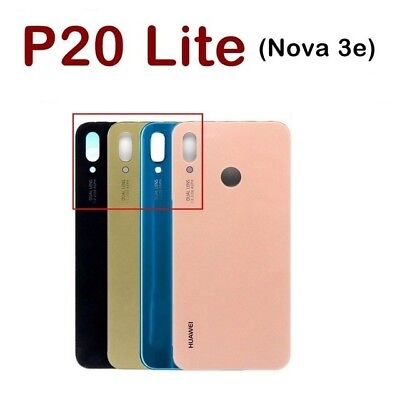 OEM Huawei P20 Lite Rear Glass Battery Back Cover Housing Adhesive Replacement