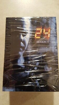 Complete Trading Card Set 24:SEASON 4 by ArtBox Keifer Sutherland
